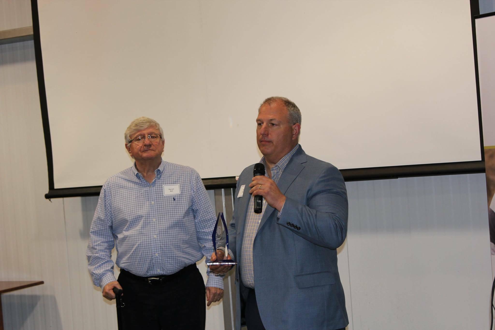 Rick Ball and Family Receive Youth Homes Award
