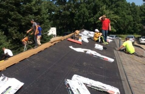 Ball Team Gives Back to the Community with Roof Replacement Project in Central Iowa